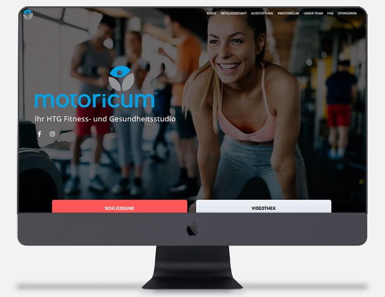Cyberry Webdesign Referenzen HTG Motoricum Homburger Turngemeinde