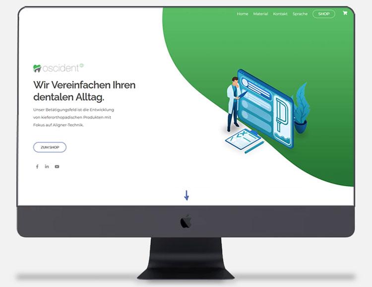 Cyberry Webdesign Referenzen Oscident